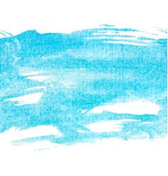 banner blue watercolor vector image