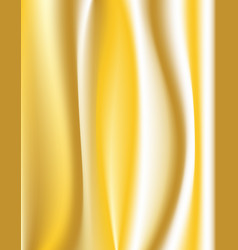 colorful silk gold background vector image