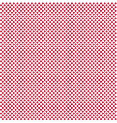 dot red background on white dot red pattern red vector image
