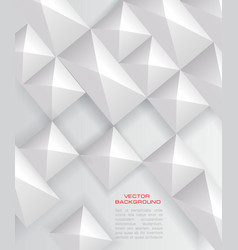 paper square banner vector image vector image