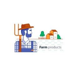 Farm 1 vector image