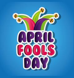 April fools day celebration party humor vector