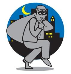 Burglar vector