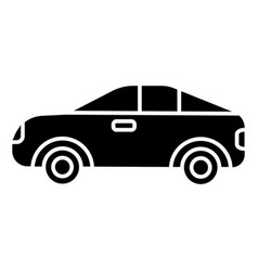 car vehicle automobile icon vector image