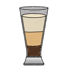 coffee shake fresh icon vector image