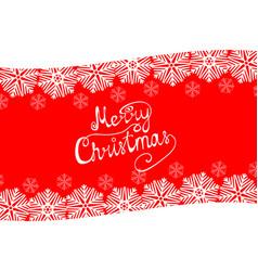 congratulation merry christmas vector image