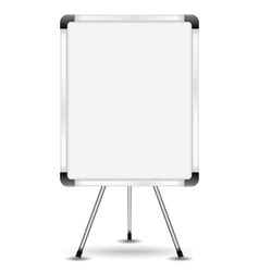 Flip chart vector image