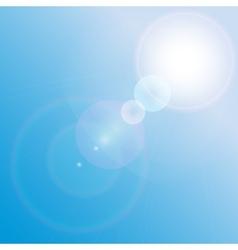 Lens frame vector image