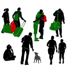 Tourist 7 vector image