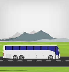 Tourist bus vector image