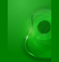 Abstract Guitar Green Background vector