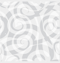 abstract ornamental spiral seamless swirl line vector image
