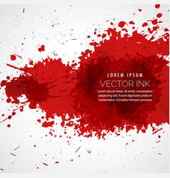 Blood splatter stain background vector
