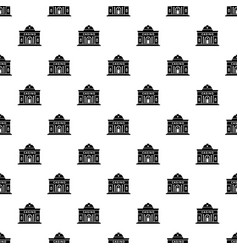 Casino building pattern seamless vector