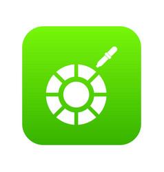 Color picker icon digital green vector