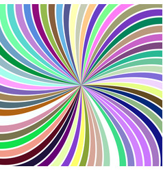 colorful abstract hypnotic vortex background from vector image