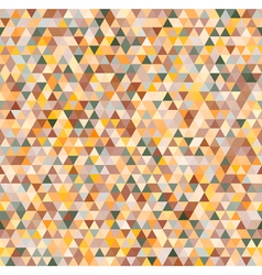 Colorful triangles geometric seamless pattern vector image