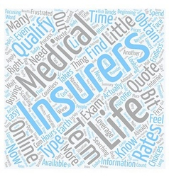 How To Obtain A No Medical Life Insurance Quote vector