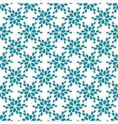 Seamless pattern decorative flower vector