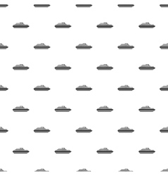 Ship pattern simple style vector image