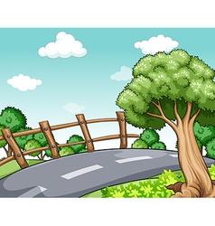 Road trip vector image vector image
