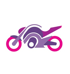 motorcycle image vector image vector image