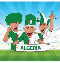Algeria football support vector