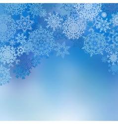 Blue christmas card eps 8 vector