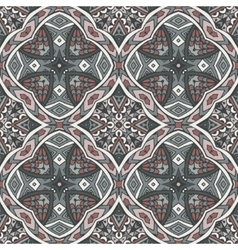 Ethnic geometric seamless royal pattern vector
