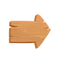 flat icon of brown wooden board in shape of vector image