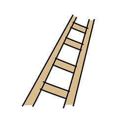 Icon ladder vector