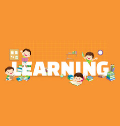 learning concept vector image