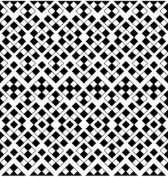 Abstract Geometric Seamless Pattern from Black and vector image