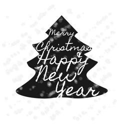 christmas retro banner vector image