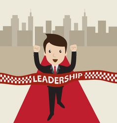 Leadership concept vector image