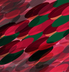Abstract ovals vector