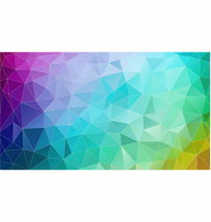 abstract triangle geometric colorful background vector image