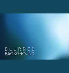 horizontal wide blue sky blurred background vector image