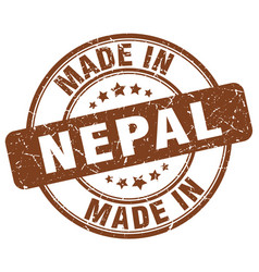 Made in nepal vector