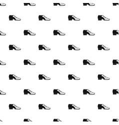 Tango shoe pattern vector