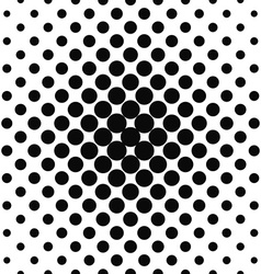 Simple monochrome repeating dotted pattern vector image vector image
