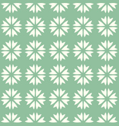 abstract seamless pattern mosaic of blooms vector image vector image