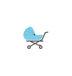 Baby cart icon design template isolated vector