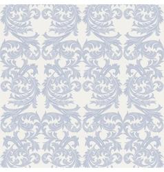 Baroque Vintage floral Damask pattern vector