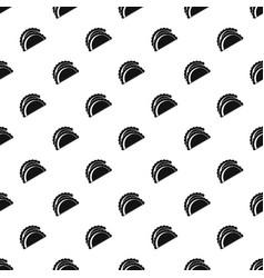 Empanadas de pollo pattern vector