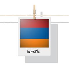 Photo of armenia flag vector