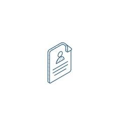profile social media user picture recruitment vector image