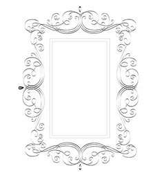 Vintage classic frame vector