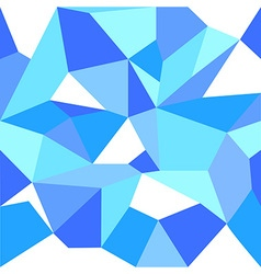 Blue Ice Abstract Seamless Pattern vector image