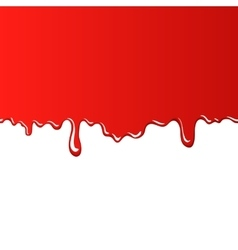 Red bloody background vector image